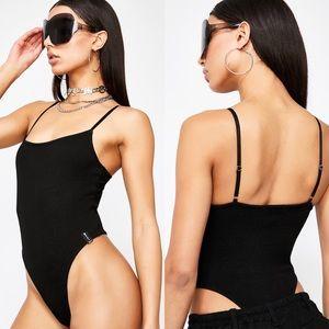 High cut bodysuit